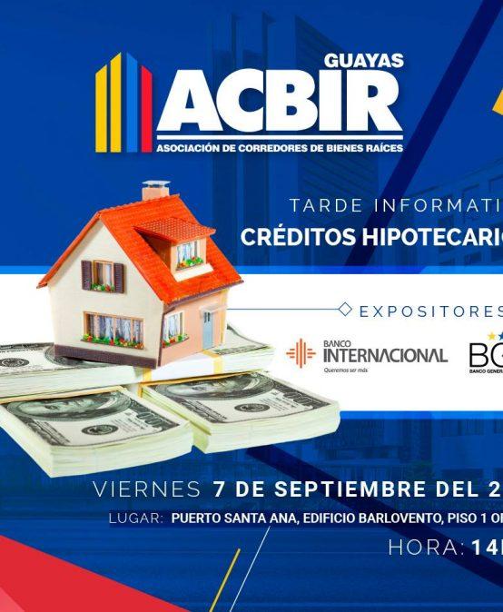 Tarde Informativa Sobre Créditos Hipotecarios Copy