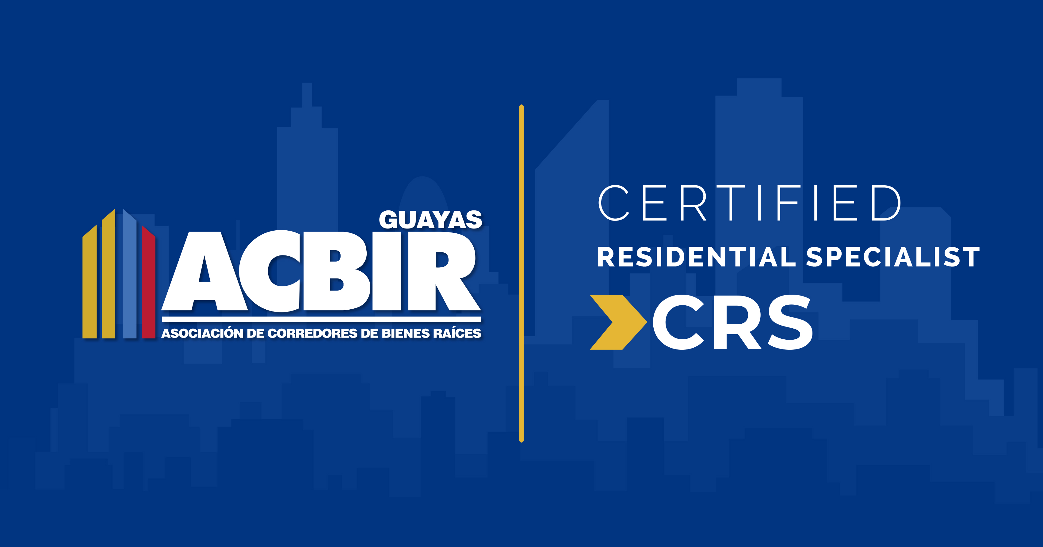 Certificación CRS (Certified Residential Specialist)