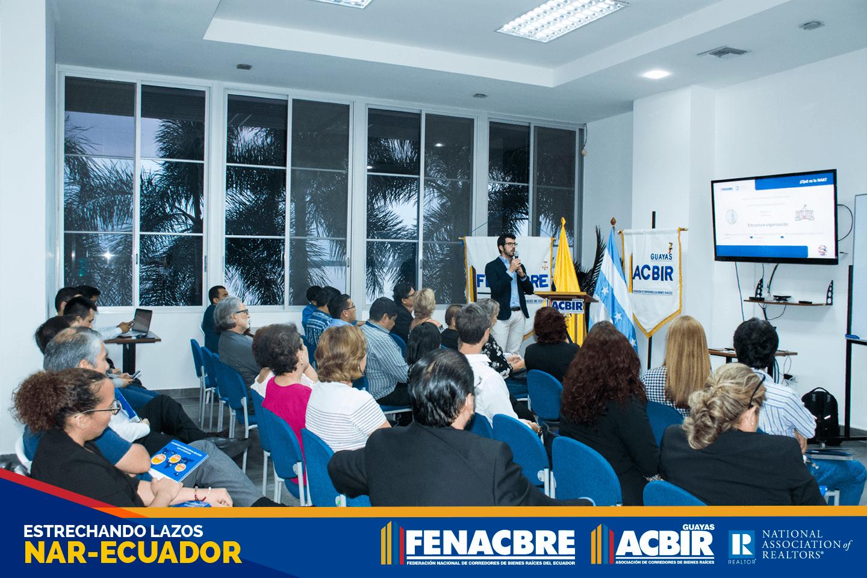 Charla Informativa Estrechando lazos NAR Ecuador Realtors