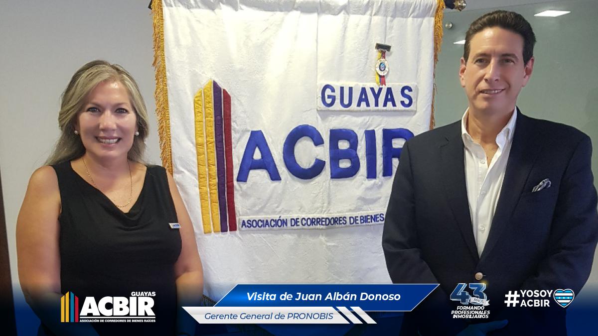 VISITA DE JUAN ALBÁN DONOSO