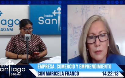 Entrevista en Radio Santiago – Presidenta MSc Sue Murillo