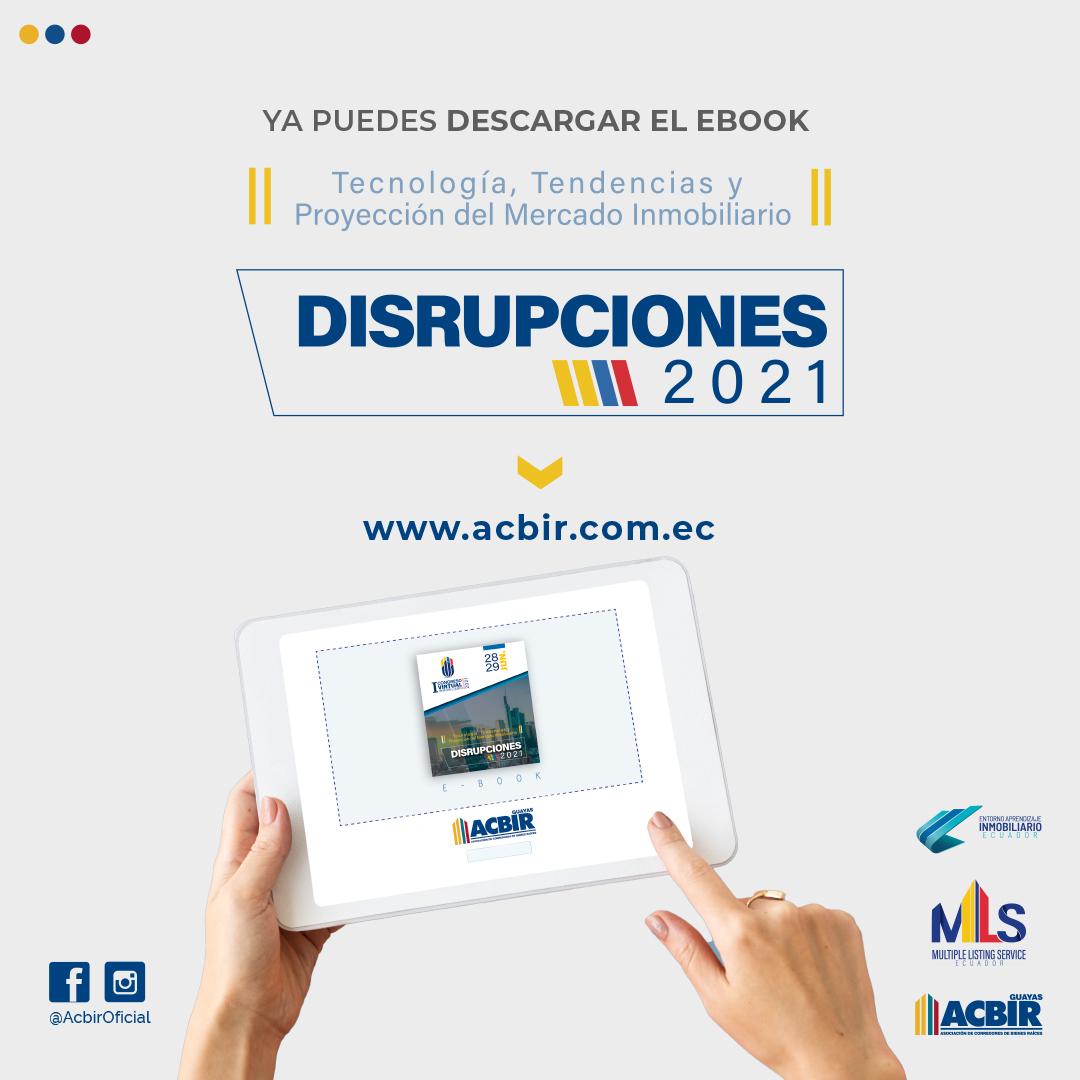 Ebook DISRUPCIONES 2021